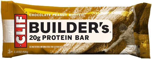 : Clif Bar Builder's Bar, 2.4-Ounce Bars, 12 Count