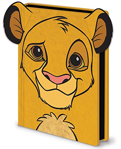 Cuaderno de notas A5 Premium - El Rey León (Simba): Amazon ...