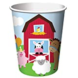 Creative Converting Farmhouse Fun Hot/Cold Cups (8 Count), 9 oz