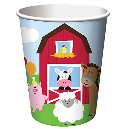 Creative Converting Farmhouse Fun 9oz Cups (8ct)]()