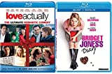 Bridget Jones's Diary + Love Actually - Fun & Romance Movies Blu Ray Bindle Set Double Love Twice as Much