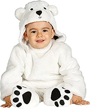 Fancy Me Bebé Niña Niño Oso Polar Animal Navidad Halloween Traje ...