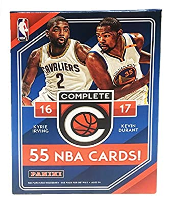 2016 - 2017 NBA Complete Factory Sealed Basketball Cards