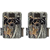 Browning Trail Cameras Dark Ops Elite 10MP HD IR Game Camera, 2 Pack | BTC-6HDE