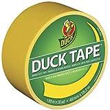 """Duck 1304966 Tape, Yellow Sunburst, 1.88"""" x 20 yards"""