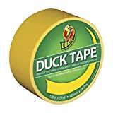 "Duck 1304966 Tape, Yellow Sunburst, 1.88"" x 20"