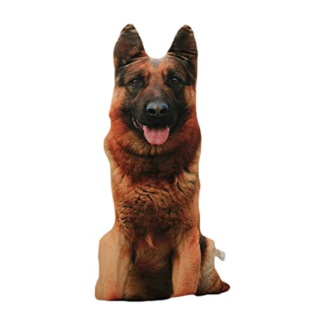 DAYOLY Almohadas en Forma de Perro con Forma de Animal 3D ...