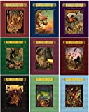Sisters Grimm Series 1-9 Hardcover Collection (The Fairy-Tale Detectives, The Unusual Suspects, The Problem Child, Once Upon a Crime, Magic and Other Misdemeanors, Tales from the Hood, The Everafter War, The Inside Story, The Council of Mirrors, 1-9)