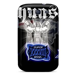 High-quality Durability Cases For Galaxy S3(new England Patriots)