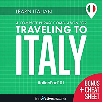 Amazon com: Learn Italian: A Complete Phrase Compilation for