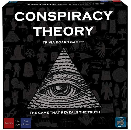 Neddy Games Conspiracy Theory Trivia Board -