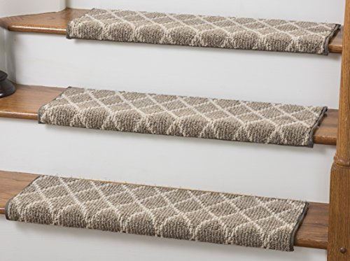 Tread Comfort Jardin Wool Inspired Bullnose Carpet Stair