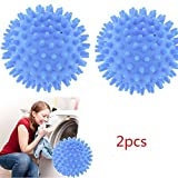 Best Home-it Hair Dryers - 2PCS Blue Dryer Ball No Chemicals Wash Washing Review