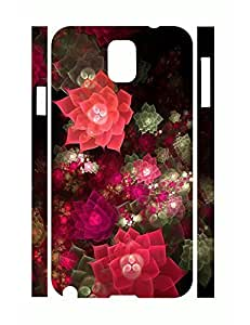 Funky Personalized Cool Neon Flower Rugged Phone Aegis Case for Samsung Galaxy Note 3 N9005