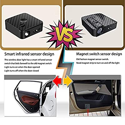 For Trump 2020 Keep America Great Car Door Projector, Upgraded Car Door Projector Shadow Ghost HD LED Lights, for all Vehicle, 2 Pack: Automotive