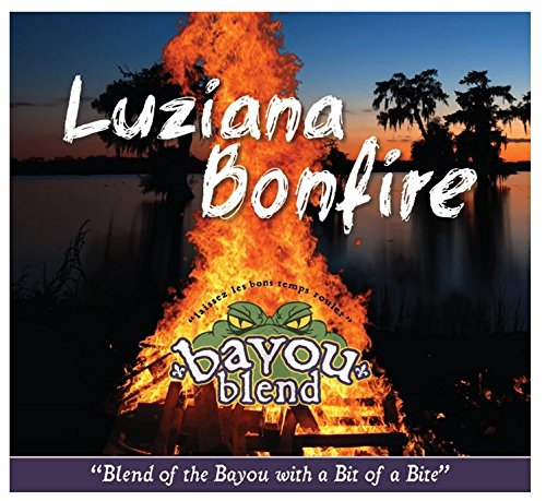 Bayou Blend - Bayou Blend Cajun Style Gourmet Beef Jerky - Premium Quality Lean Beef Dried to Perfection - Great Gifts for Jerky Lovers - High Protein Healthy Lean Meat Snacks - Satisfaction Guaranteed (Luziana Bonfire 7.5 Oz)