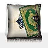 MSD Throw Pillowcase Polyester Satin Comfortable Decorative Soft Pillow Covers Protector sofa 16x16, 1pack IMAGE ID 23730192 The holy Quran