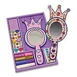 : Melissa & Doug Decorate-Your-Own Princess Mirrors Craft Kit