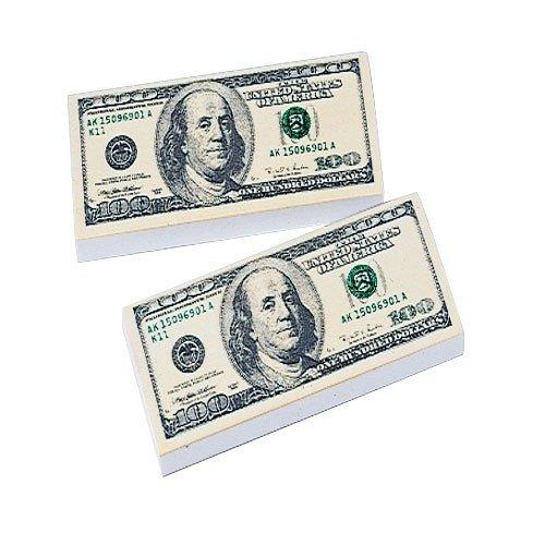 $ 100 Bill消しゴム/ 36-bx , Sold byケースパックof 8ボックス   B06XDJ7J13