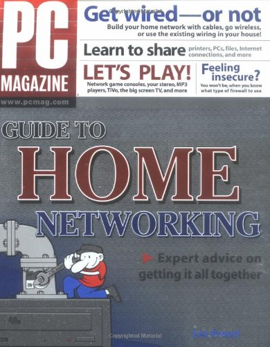 PC Magazine Guide to Home Networking-cover