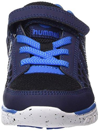 Hummel Crosslite Jr, Zapatillas Deportivas Para Interior Unisex Niños Azul (Skydiver)
