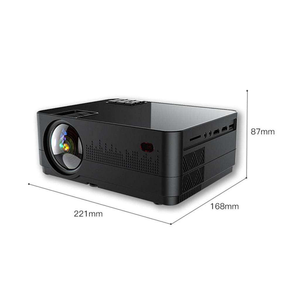 Dough.Q Mini Proyector 3D Full HD Pico Proyector, proyector ...