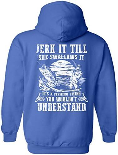 Tenacitee Unisex Just Keep On Swimming Sweatshirt