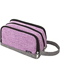 Toiletry Bag, Yeiotsy Color Clash Durable Small Toiletry Bag for Short Trip