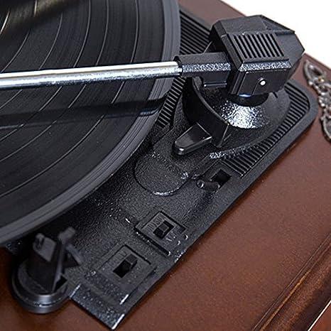 MUSIC Reproductor de Discos de Vinilo, Tocadiscos de ...