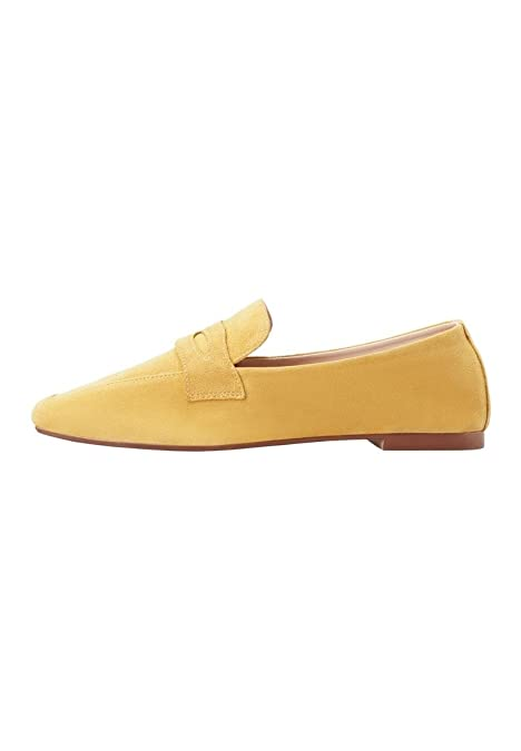 062487a7e0a Mango Women s Leather Penny Loafers