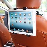 Die Hard, [ Car Seat Tablet Holder ] Adjustable Car Back Seat Head Rest Cradle & Mount Tab Holder for 7 to 10 Inch Kindle/iPad/Tablets