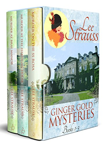 3 Ginger Gold Mysteries: Cozy, historical Ginger Gold Mysteries cover