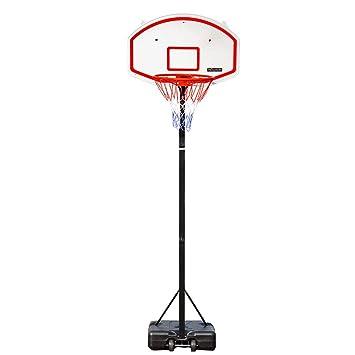 Amazon.com: PEXMOR - Aro de baloncesto portátil ajustable en ...