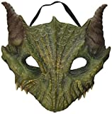 Forum Novelties Dragon Half Green Mask