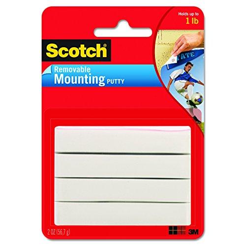 Scotch Mounting Putty, Removable, 2 oz., White (Fun Tack)