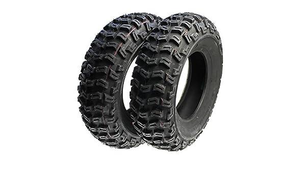 2 x Quad neumáticos, terrenos Neumáticos Juego Delantero 21 x 7.00 - 10 para Quad ATV Buggy Yamaha Raptor YFM 700 R 80 90 350 Barossa Skywalker 250R Kymco ...