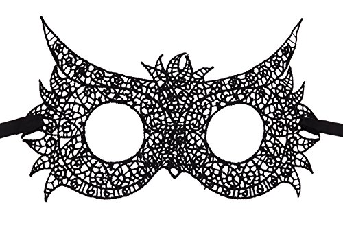 Bonnie Z. Leonardo Lace Mask Masquerade Mask for Women Owl -