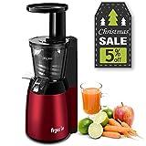Argus Le Slow Juicer, Compact Design Masticating Juicer, High Nutrient Cold...