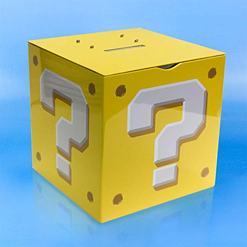 Super Mario Bros. Question Block - Money Box
