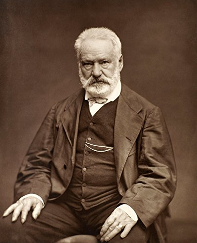 Victor Hugo 1876 Poster Art Photo Great French Writers Posters Photos - French Writer