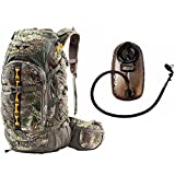 Tenzing TZ 3000 Big Game Hunting Day Pack (Realtree Max 1 Camo) with 2.0L Hydration Reservoir