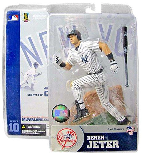 Road Jersey Derek Jeter - Mcfarlane MLB Series 10 Derek Jeter NY Yankees