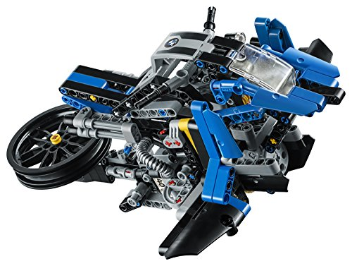 51ZULaEBFTL - LEGO Technic BMW R 1200 GS Adventure 42063 Advanced Building Toy