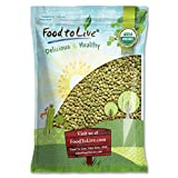 Organic Green Lentils by Food to Live (Whole Dry Beans, Non-GMO, Kosher, Raw, Sproutable, Bulk) —5 Pounds