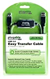 Computers Softwares Best Deals - Plugable Windows Transfer Cable for Windows 10, 8.1, 8, 7, Vista, XP. Includes Bravura Easy Computer Sync Software