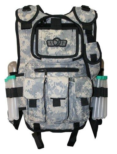 GXG GEN X DIGI ACU Paintball Airsoft Tactical Vest Gen X Tactical Paintball Vest