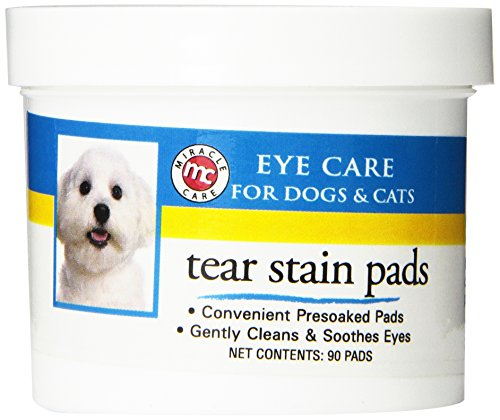 Miracle Care Eye Clear Cleaning Pads, 90-Count