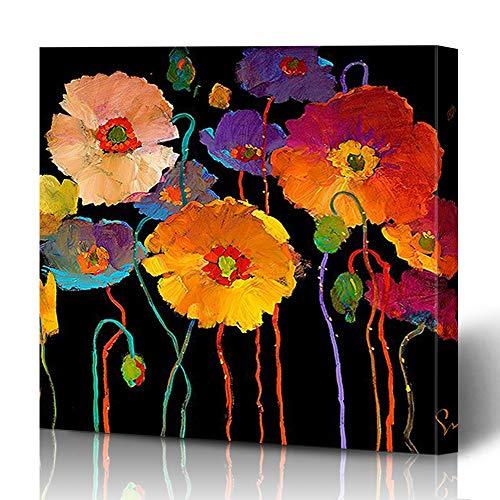 "Ahawoso Canvas Print Wall Art Painting 16""x16"" Simon Bull Wrapped Artwork Home Decor Living Room Office"