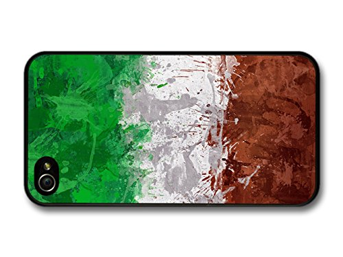 Italian Flag Italy Bandiera Italiana Tricolore Italiano coque pour iPhone 4 4S