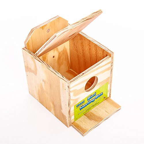Ware-Manufacturing-Wood-Finch-Regular-Nest-Box-Finch